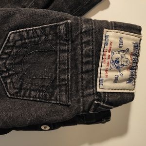 True religion toddler jeans sz 4